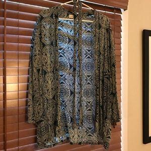 Natalie Martin Medallion Print Saylor Kimono